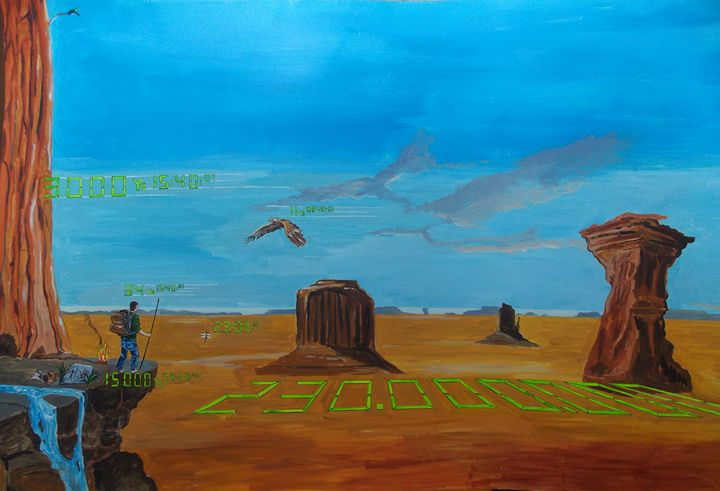 The dimension of existences - Lázaro Hurtado Art