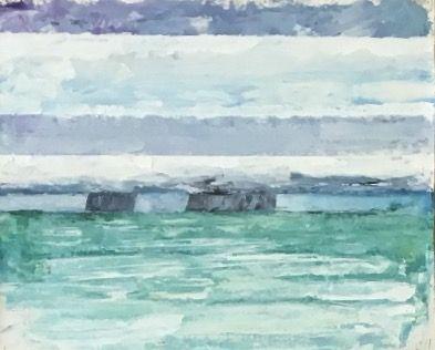 Offshore rain - Jeff Lewis Stogner