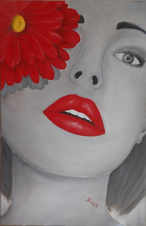 Red Face - Silvia Perrone