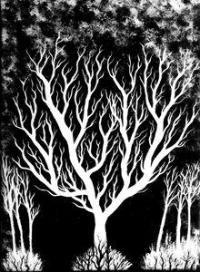 Blazing - Black and White Series