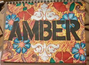 name art; amber