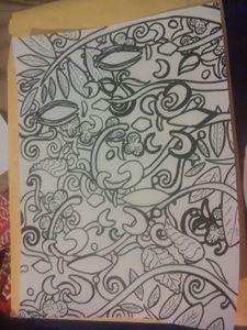 rough sketch_abstract garden
