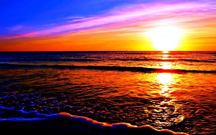 Maui Sunset - Amber's Amazing Art