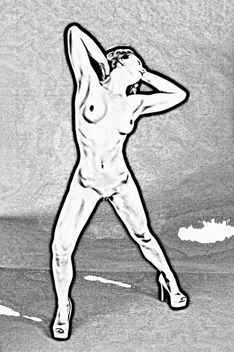 Nude Woman 1430.153 - K M Photography