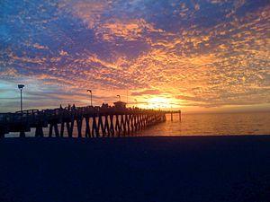 Sunset Over Sharkey's
