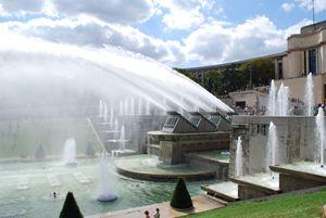 Fountains at Trocadero