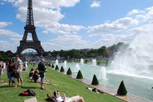 La Tour Eiffel et Trocadero