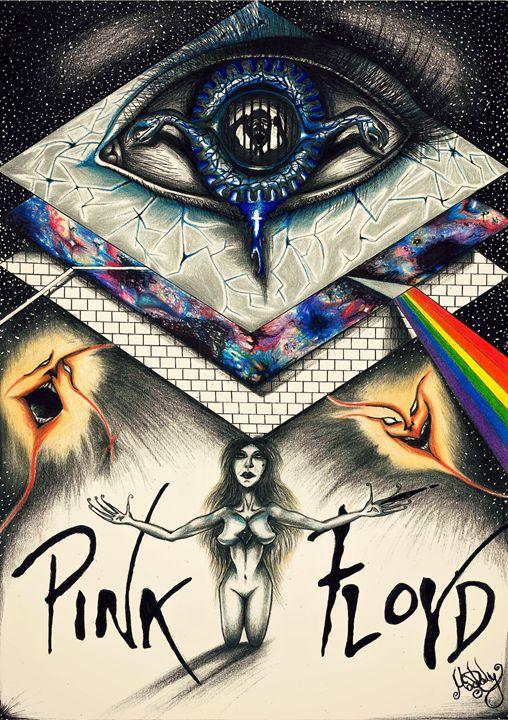 Echoes- A Pink Floyd Tribute - Maddy Rusu