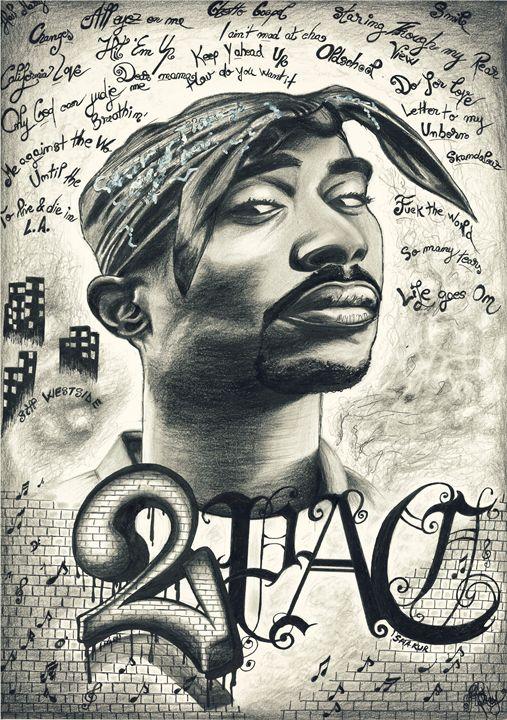 """""""2Pac/Tupac Shakur - Maddy Rusu"""
