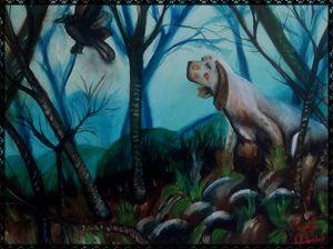 il cane cacciatore