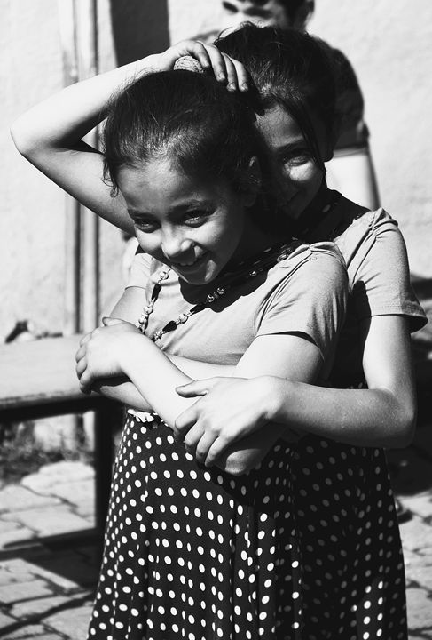 Sisters - RainyLithuanian Photography