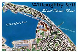 Willoughby Spit Map Labled