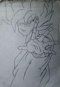 Goku super saiyan 1