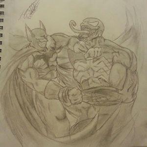 Batman vs venom