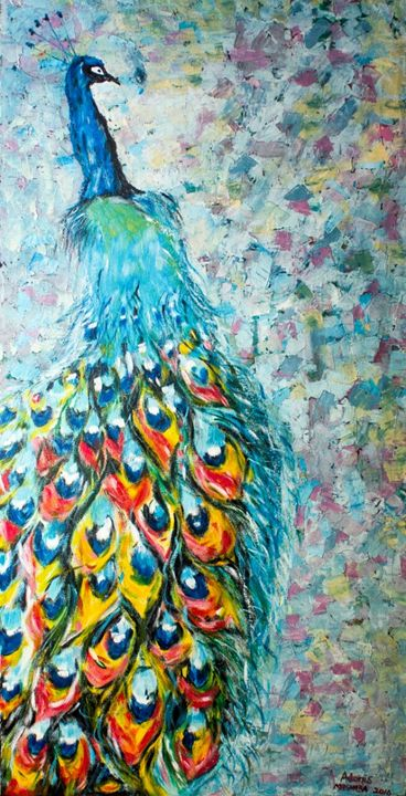 A Peacock in Style - Adonis Arts