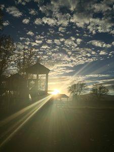 Playground Sunset