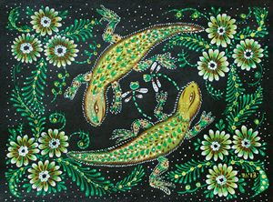 Dancer lizards
