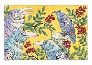 Ravens and elder berries