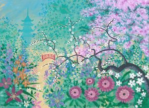 Japanese Garden (CJ) - Orleans Heraldry & Fine Art