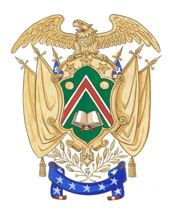 American Armorial (CJ) - Orleans Heraldry & Fine Art