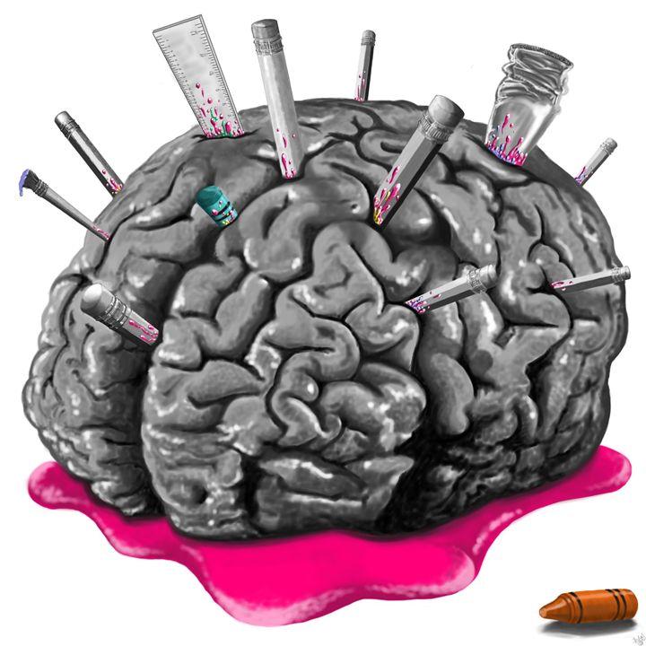 Sketchy Brain - Hermes Auslander