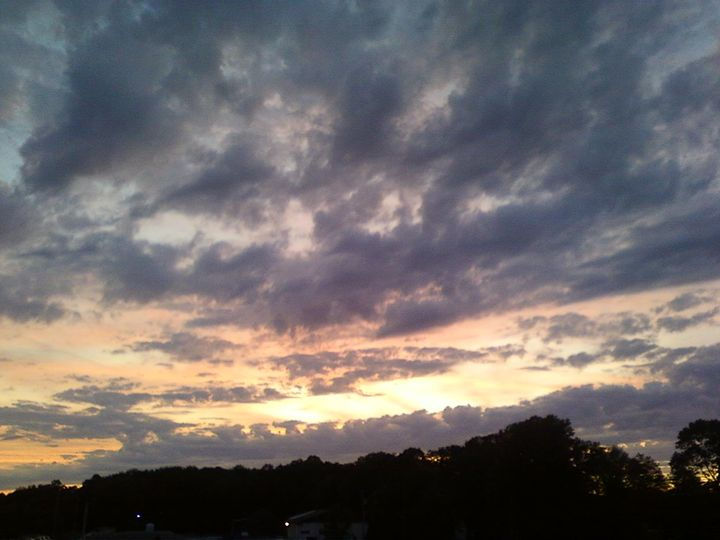 Farmersburg sunset - Farmersburg Indiana Photos