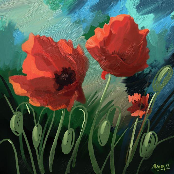 Poppies.1 - Das Menon