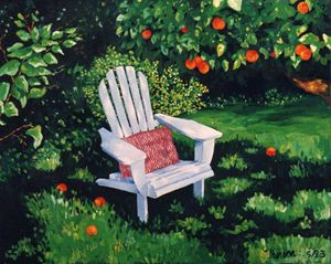 Shaded Chair