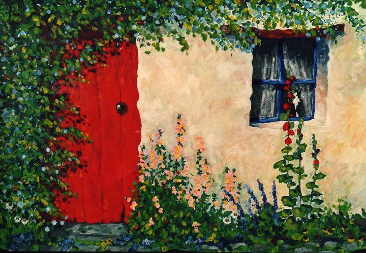 Cottage Door - The Delaney Odyssey
