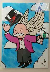 Flying Drunk - Monopoly Guy