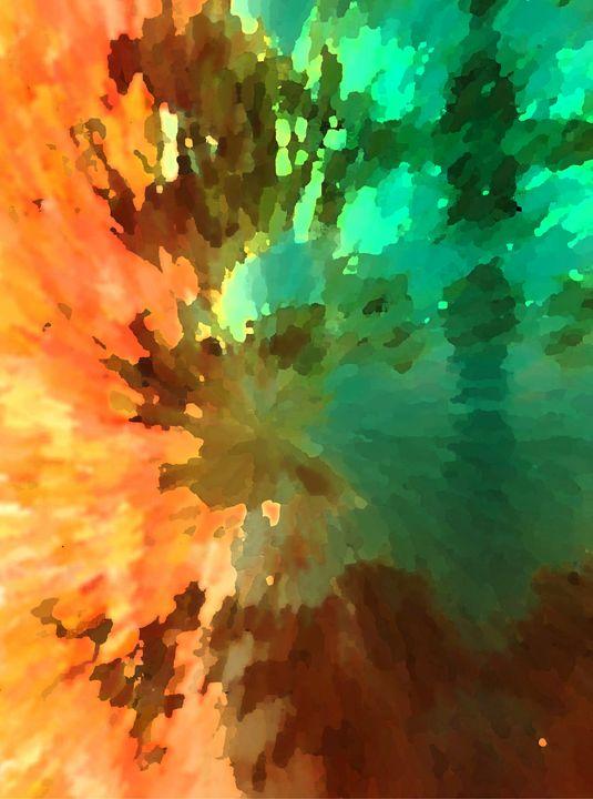 Autumn Surprise - Lens Art By Florene