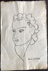 Matisse OriginalFemale Portrait