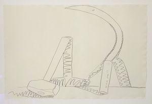 Andy Warhol'Still Life Hammer&sickle