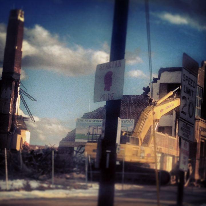 """Demolition"" - Pat Geco"