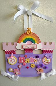 It's A Baby Girl! - Wall Decor