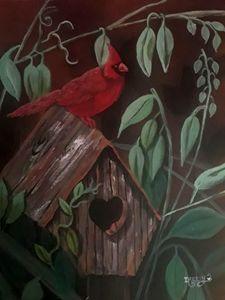 Cardinal at Home