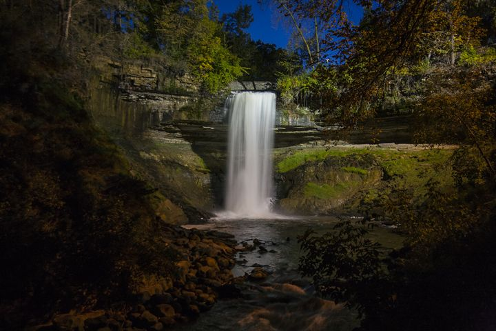 Minnehaha Falls - The DownLoad Society