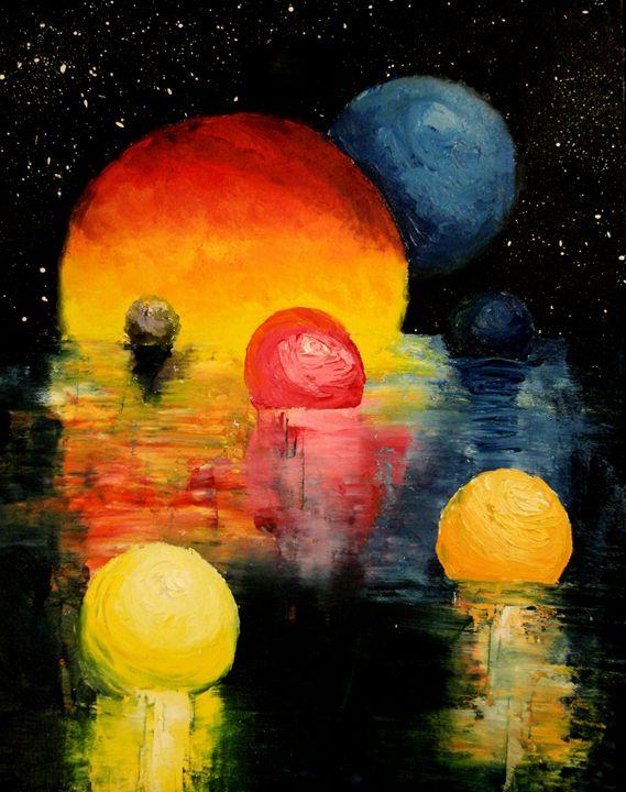 Ascending Colors - Color Distributions