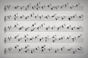 Dance Music Conceptual Sheet Music
