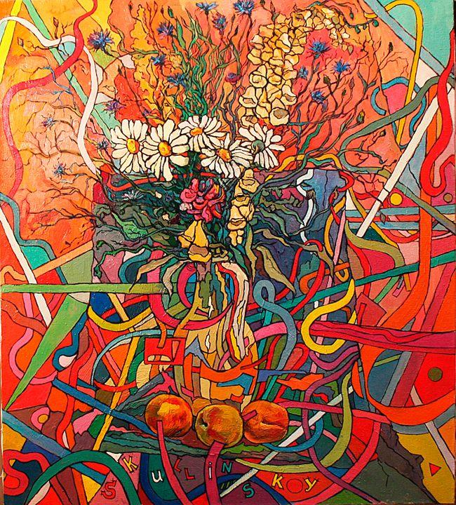 decorative flowers - Skullinsky