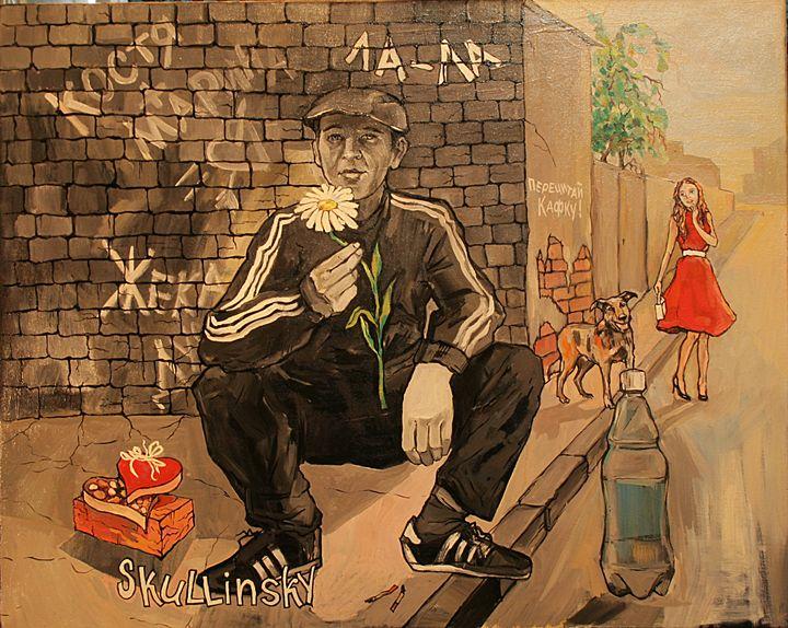 Street guy - Skullinsky