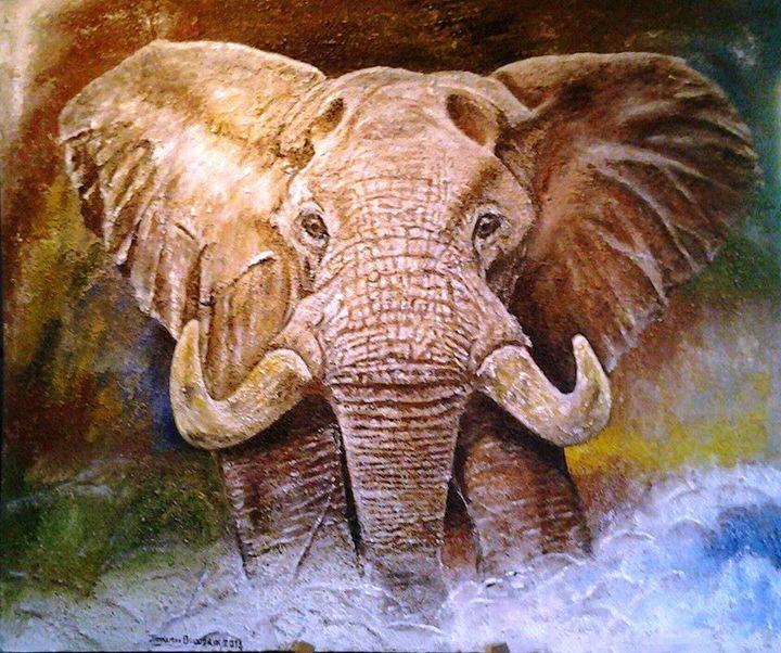 Charging Bull - Wild At Art