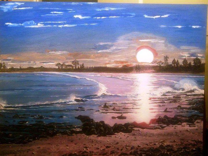 Sunrise Over Elandsbay, Western Cape - Wild At Art