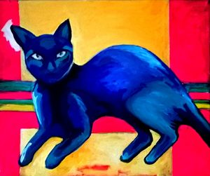 CATS blue