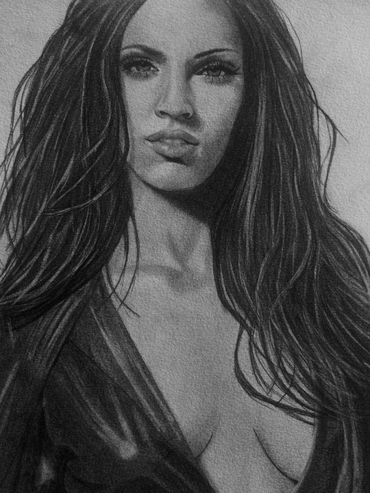 Megan Fox - Art By Kathu