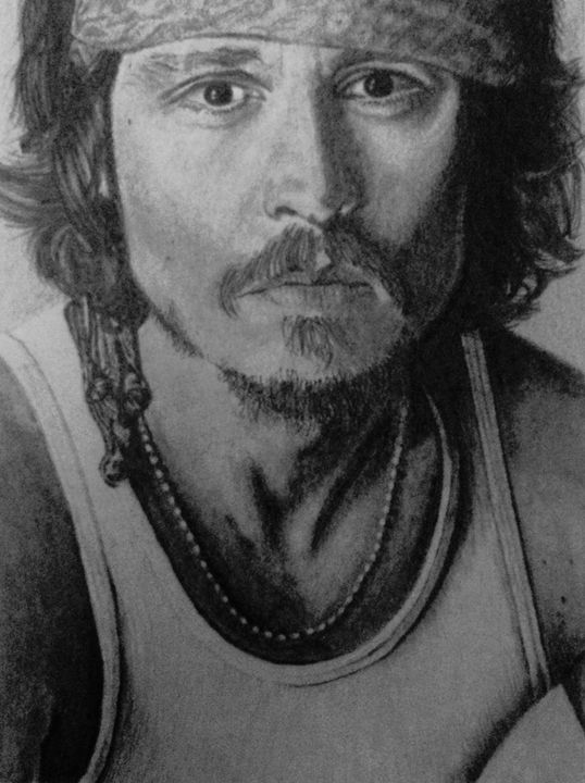 Johnny Depp - Art By Kathu