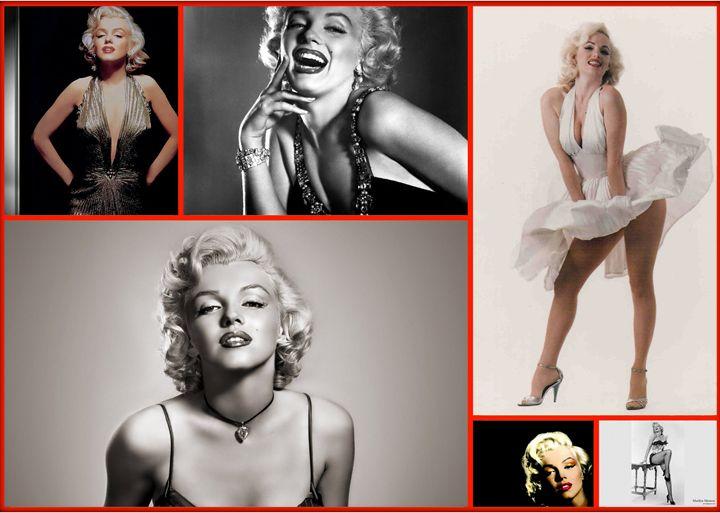 Collage de Marilyn Monroe - Zullian & Trompiz Galery