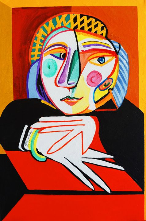 WAITING AT WINDOW, PICASSO - NORA SHEPLEY FINE ART