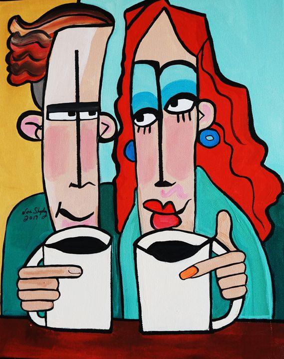 MORNING AFTER - NORA SHEPLEY FINE ART