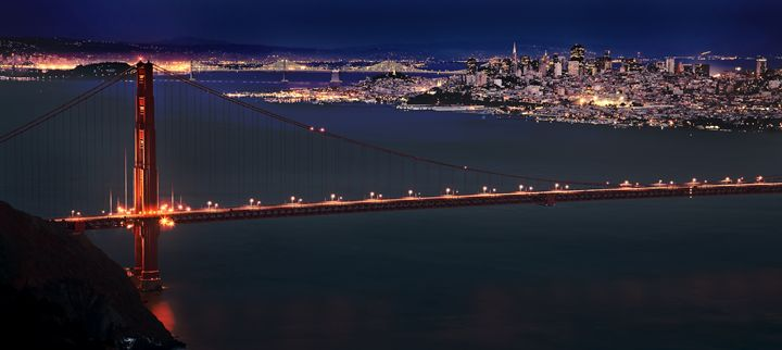 San Francisco Skyline - Fine Art Photography